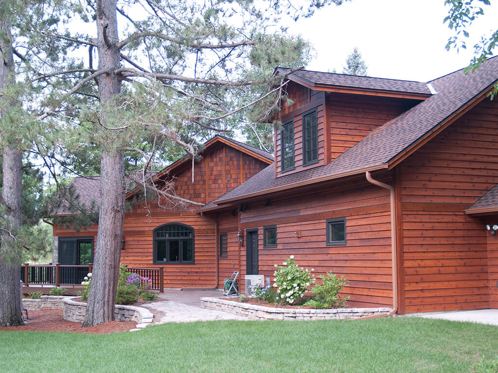 Wood shingle siding cost trendy wood shingle siding cost for Cedar shake siding pros and cons